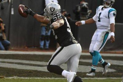 New Orleans Saints' Mark Ingram, Oakland Raiders' Khalil Mack top players of week