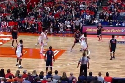 Syracuse rallies to knock off No. 9 Virginia