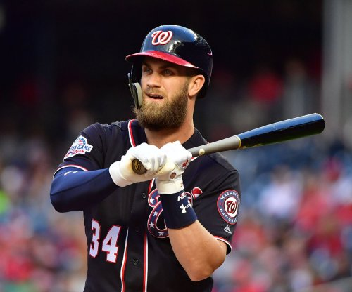 Harper shining as Nats go for sweep of Pirates
