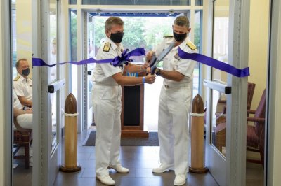 NATO opens new Atlantic Command at Norfolk, Va.