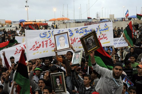 Libya accused of organized mass rape