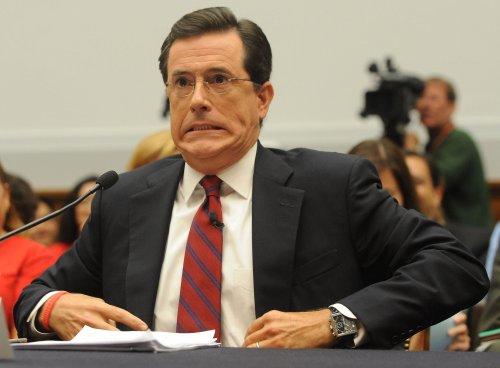 Colbert Iowa ad: Write in 'Rick Parry'