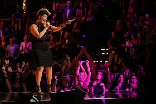 'The Voice' crowns a winner -- Tessanne Chin