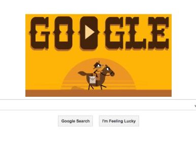Google honors Pony Express 155 years after delivering first letter