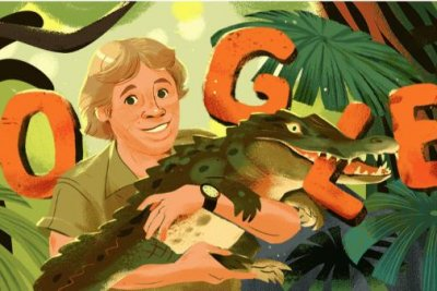 Google Doodle honors 'Crocodile Hunter' Steve Irwin