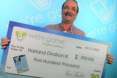 Wife's need for a lighter leads man to $500,000 lottery prize
