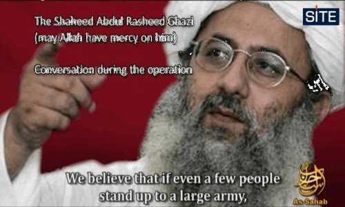 Al-Qaida video critical of Pakistani army