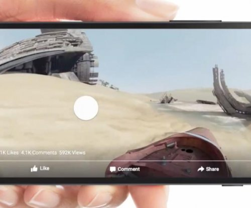 Facebook launches 360-degree video feature, 'Star Wars' lets fans in on flying action