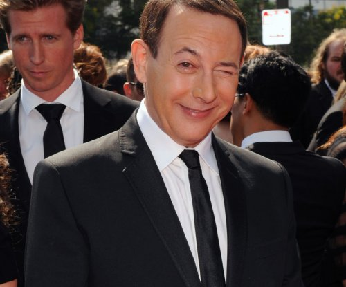 Paul Reubens photographed on the set of 'Gotham'