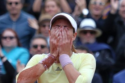 Defending champion Garbine Muguruza advances at French Open