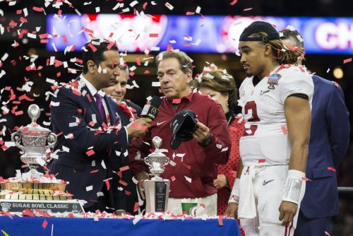 Nick Saban deals with talk that Jalen Hurts might leave Alabama Crimson Tide