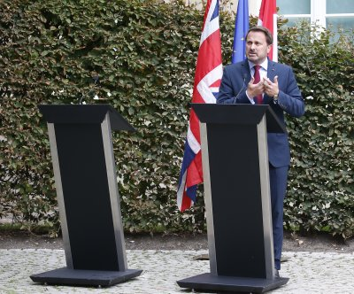 British PM Johnson meets EU chief in Luxembourg over Brexit progress