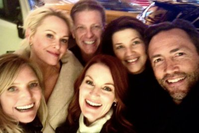 'Melrose Place' stars reunite in New York