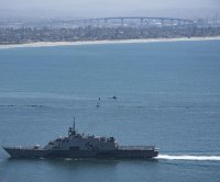 USS Freedom littoral combat ship returns from final deployment