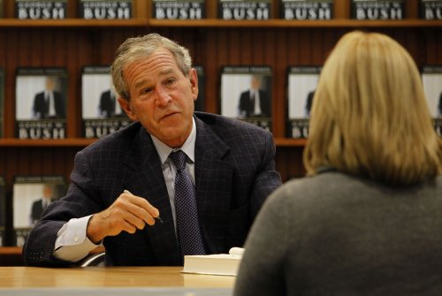George W. Bush library to mark a milestone