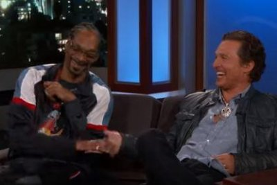 Matthew McConaughey, Snoop Dogg call 'Beach Bum' a 'party' on set
