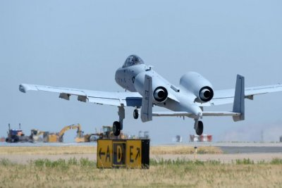 Air Force finishes wing replacements on A-10 Thunderbolts