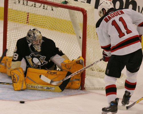 Fleury sent to minors for conditioning