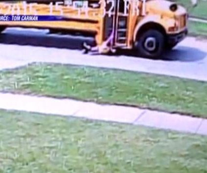 Video: 7-year-old Kentucky girl dragged 1,000 feet by school bus