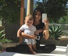 Kourtney Kardashian shares new photos with son Reign