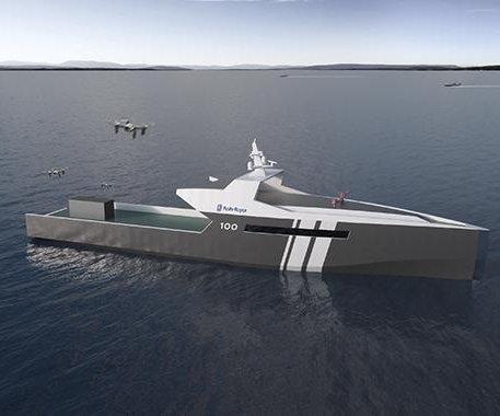 Rolls-Royce plans fully autonomous long-range naval vessel