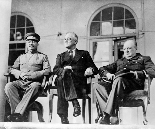 On This Day: 'Big Three' meet, pledge to defeat Nazis