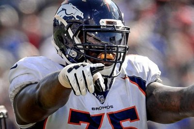 Denver Broncos place OL Menelik Watson on injured reserve
