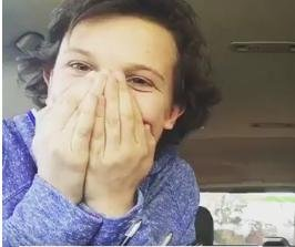 'Stranger Things' actress Millie Bobby Brown sings Adele