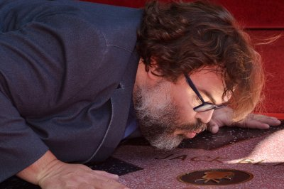 Jack Black gets a star on the Hollywood Walk of Fame