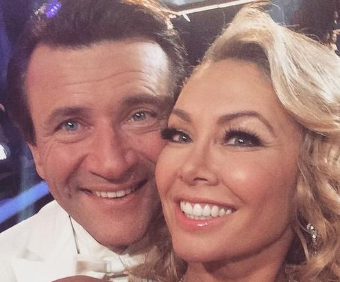 Robert Herjavec hints at romance with Kym Johnson