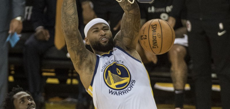 hot sale online 341cb e4ad1 Golden State Warriors' DeMarcus Cousins expects to return ...