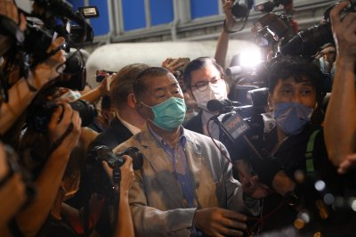 Hong Kong mogul Jimmy Lai ordered into custody after release on bail