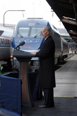 Privatizing part of Amtrak proposed