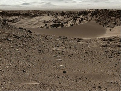 NASA looking for smoother route for Mars rover travels
