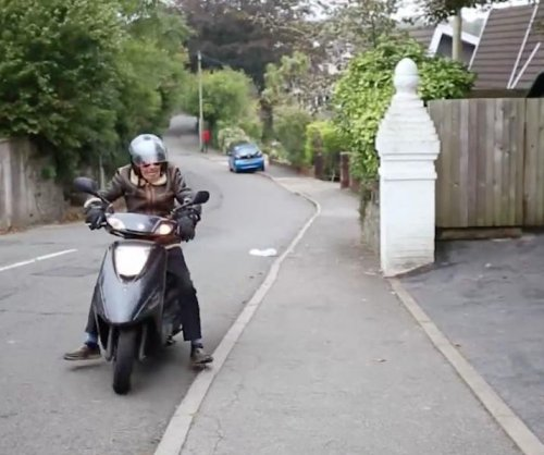 Britain's oldest biker rides past 101st birthday