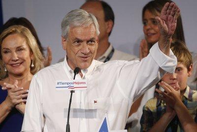 Sebastian Pinera wins Chile's presidential run-off election