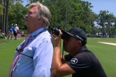 Players Championship: Fowler needs binoculars, rules official's shoulder to find ball