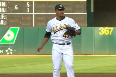 Oakland A's pitcher Frankie Montas suspended 80 games