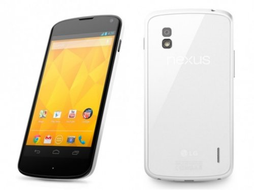 LG Electronics confirms white version of Nexus 4 phone coming