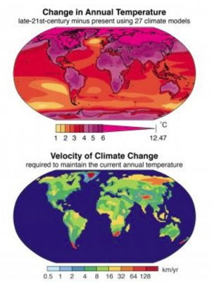 Climate said changing at fastest rate in past 65 million years