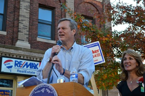 Martha Coakley challenges Charlie Baker on tearful fisherman story