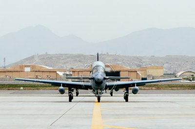 Afghanistan receives 4 more Super Tucano light-attack aircraft