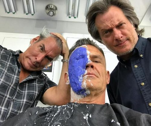 Josh Brolin teases transformation into Cable in 'Deadpool 2' in new photo