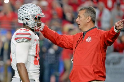 Ohio State Buckeyes play Michigan Wolverines hoping for playoff berth