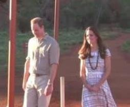 Prince William, Kate Middleton visit Australia's Uluru
