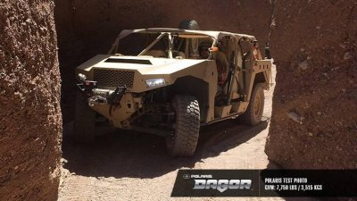 Polaris intros combat vehicle for special operations use