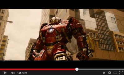Watch first trailer for 'Avengers: Age of Ultron'