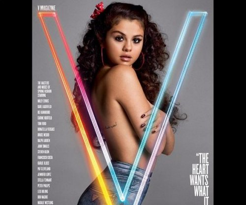 Selena Gomez goes topless for V magazine cover