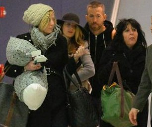 Ryan Reynolds, Blake Lively spotted with newborn daughter at JFK