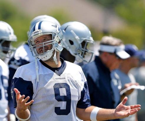 Tony Romo senses urgency in 14th Dallas Cowboys training camp